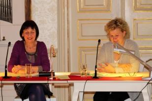 """Präsentation des Buches """"Der Tulipan entblättert sich und Amor schleicht ins Land"""" im Gohliser Schlösschen."""