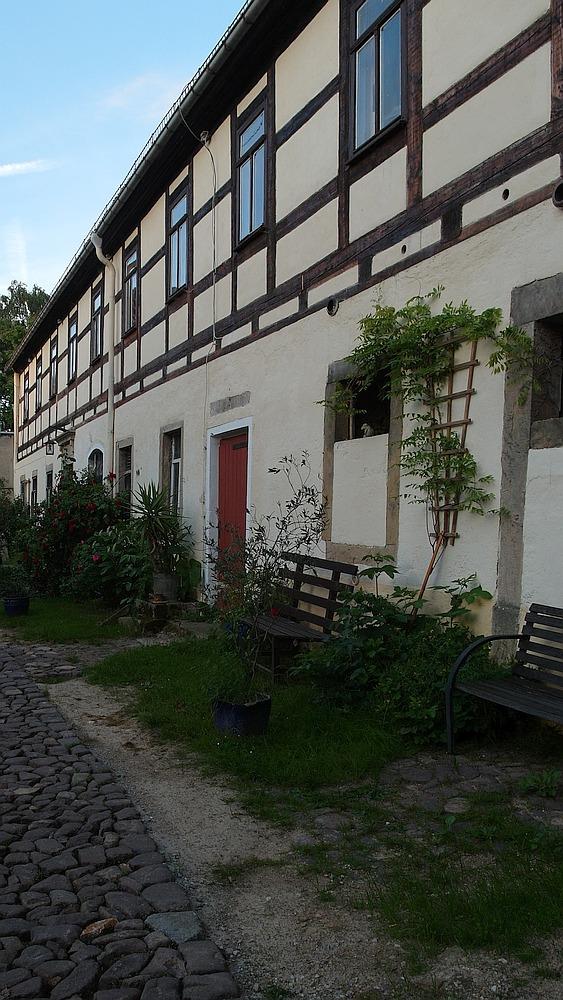 Der Luminohof in Löbschütz bei Meissen. Foto: Mirabilis Verlag